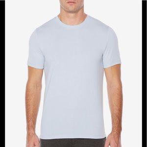 Perry Ellis crew neck shirt - ice blue color